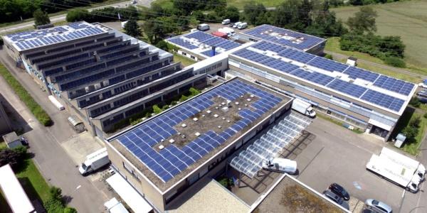 Photovoltaik Gewerbe Industrie