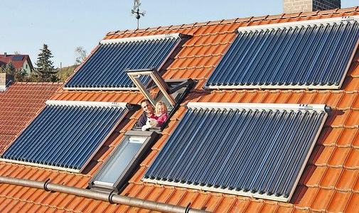 Solarthermie Privathaushalte