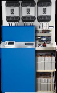 Stromspeicher Speichersystem Batteriespeicher SEMS W-QUADRAT