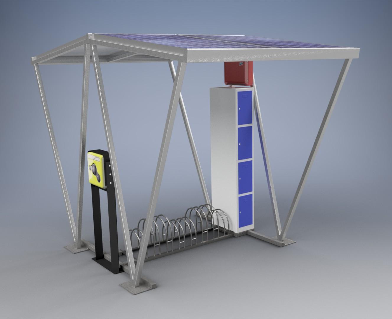 Solar-Ladestation