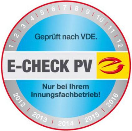 E-Check PV Photovoltaik