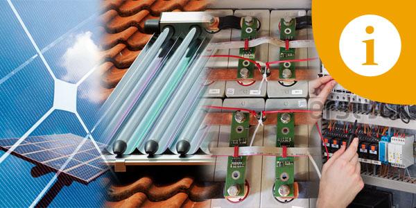 FAQ Häufige Fragen zu Photovoltaik Solarthermie Stromspeicher Elektroinstalltion