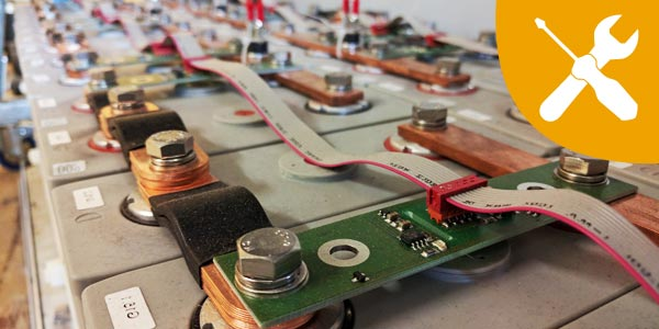 Stromspeicher Batteriespeicher Service Kundendienst Inspektion Wartung