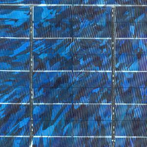 Photovoltaik Zelle multi