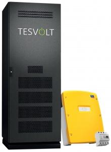 Solar Photovoltaik Stromspeiche Energiespeicher Tesvolt TS48V + Sunny Island