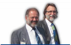 Günter Westermann und Bruno Wörner